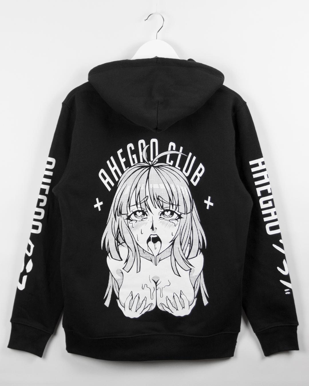 Ahaego ahegao club hoodie
