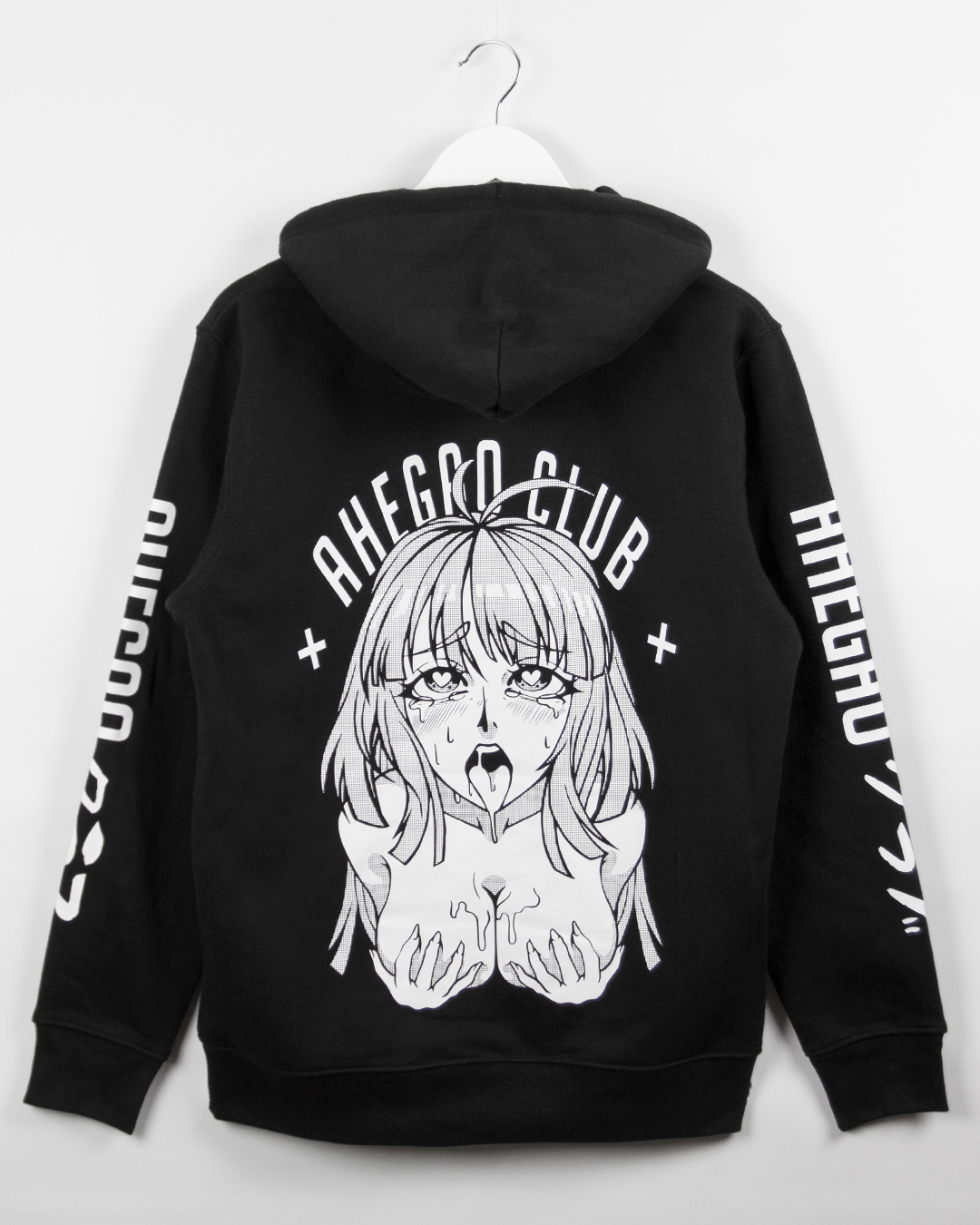 Ahega ahegao club hoodie